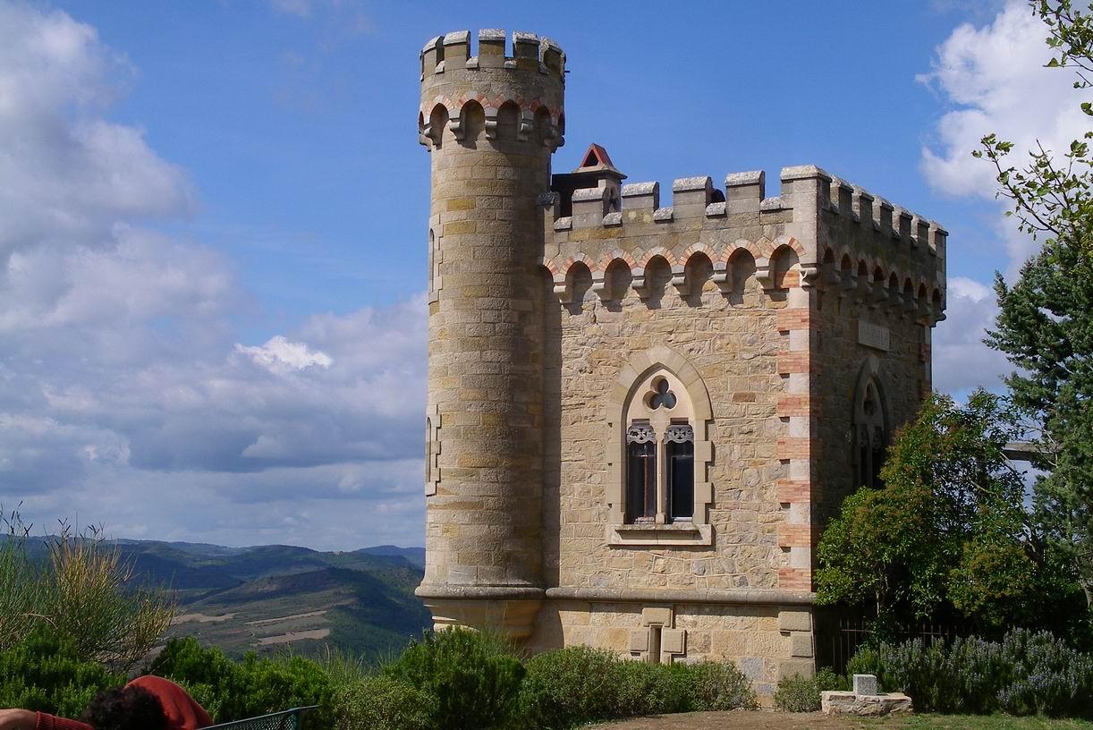 La tour Magdala à Rennes-le-Château